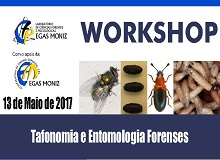 Workshop de Tafonomia e Entomologia Forenses